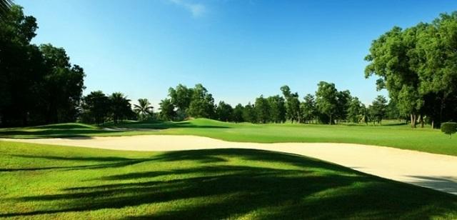 Một góc sân golf Thủ Đức