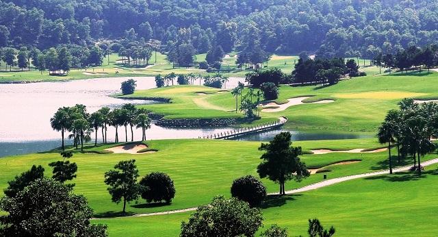 Một góc sân golf Chí Linh