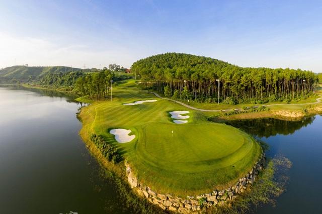 Vẻ đẹp của khu du lịch sinh thái sân golf Tràng An