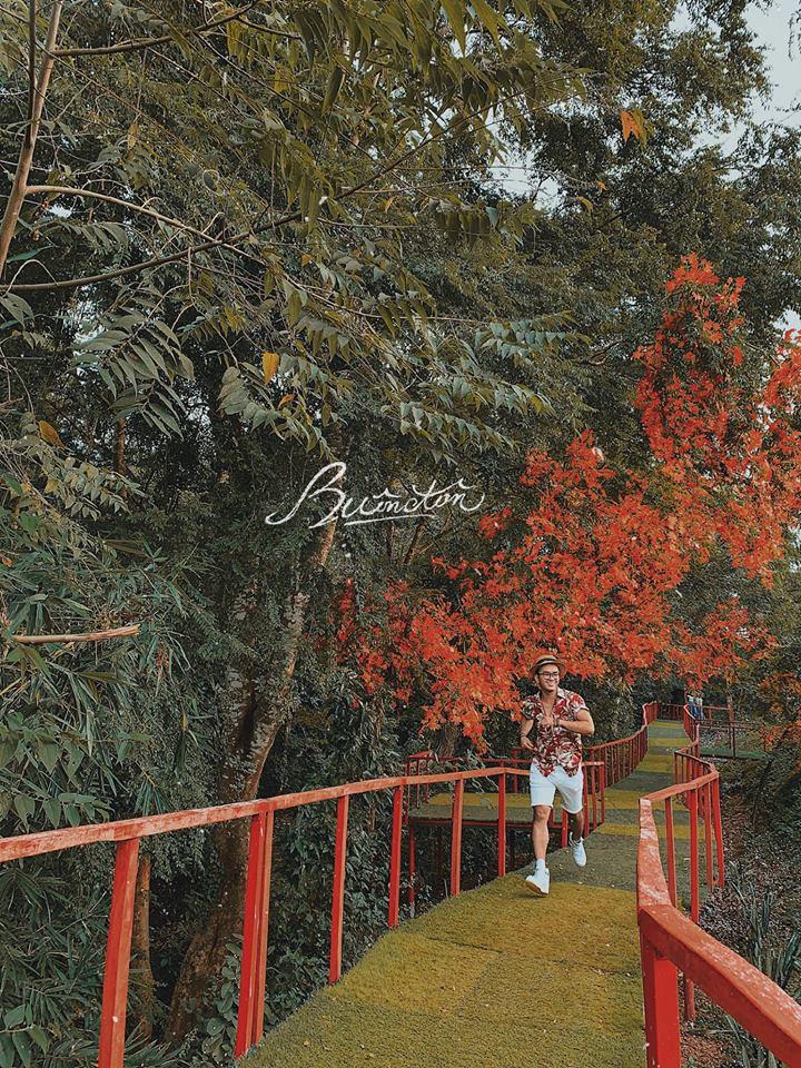 Vườn Troh Bư. Hình: Sưu tầm