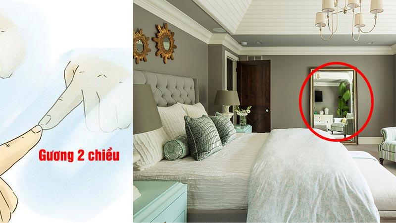 Cần chú ý kiểm tra những tấm gương trong phòng khách sạn - Nguồn ảnh: Internet