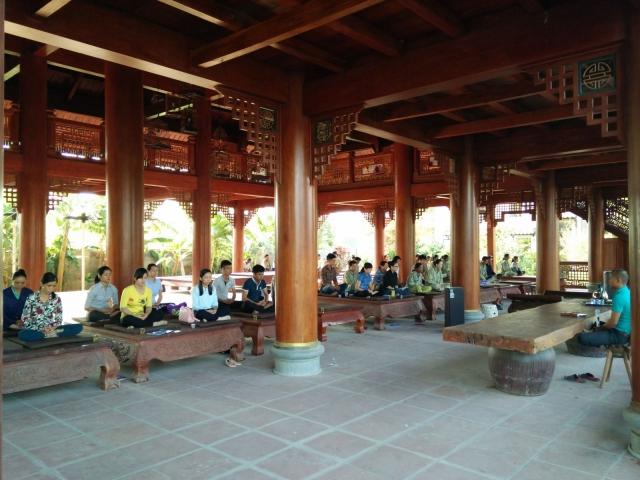 Học thiền định đúng chuẩn tại Khu nghỉ dưỡng Thiền Tâm. Ảnh: Internet