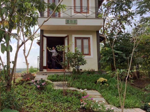 Khu nghỉ dưỡng riêng biệt yên tĩnh tại Thiền Tâm. Ảnh: Internet