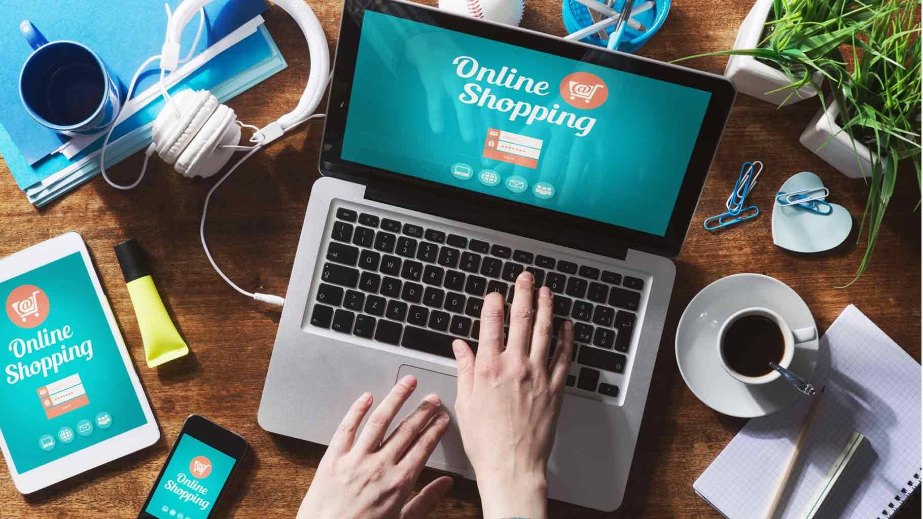 Công nghệ khiến việc mua sắm của bạn trở nên dễ dàng hơn. Hình: Sưu tầm