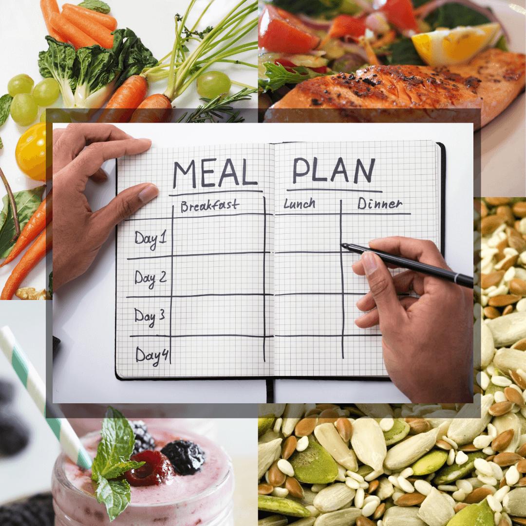 Lập kế hoạch ăn uống thật chi tiết để đảm bảo tỷ lệ thích hợp giữa các chất trong bữa ăn. Hình: Sưu tầm