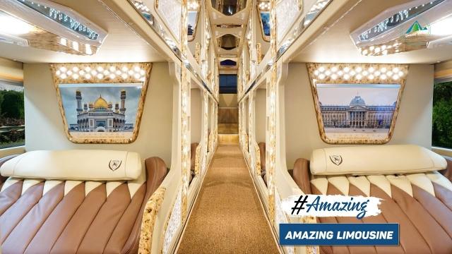 Amazing Limousine mang đến không gian thời thượng, riêng tư cho các cặp đôi. Ảnh: Internet