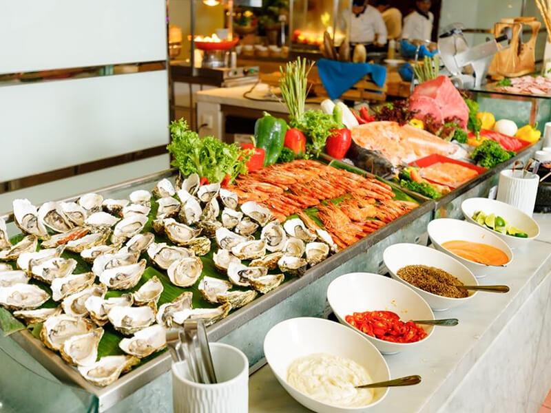 Các món ăn với hương vị hấp dẫn, đẹp mắt
