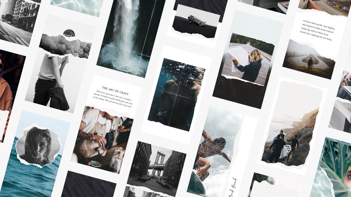 Unfold là ứng dụng dành riêng cho việc tạo ra những bức ảnh up story