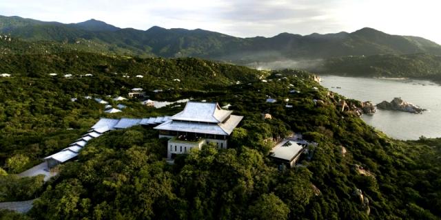 Amanoi Vĩnh Hy là khu nghỉ dưỡng đắt giá hàng đầu Việt Nam hiện nay. Ảnh: Internet