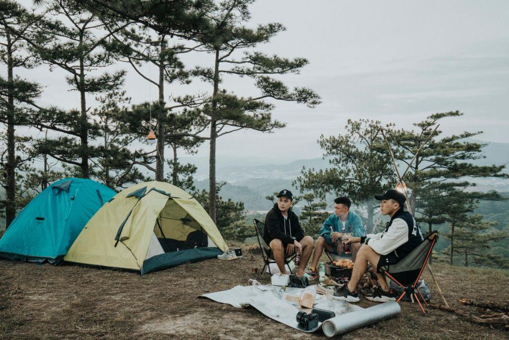 Camping. Hình: Sưu tầm