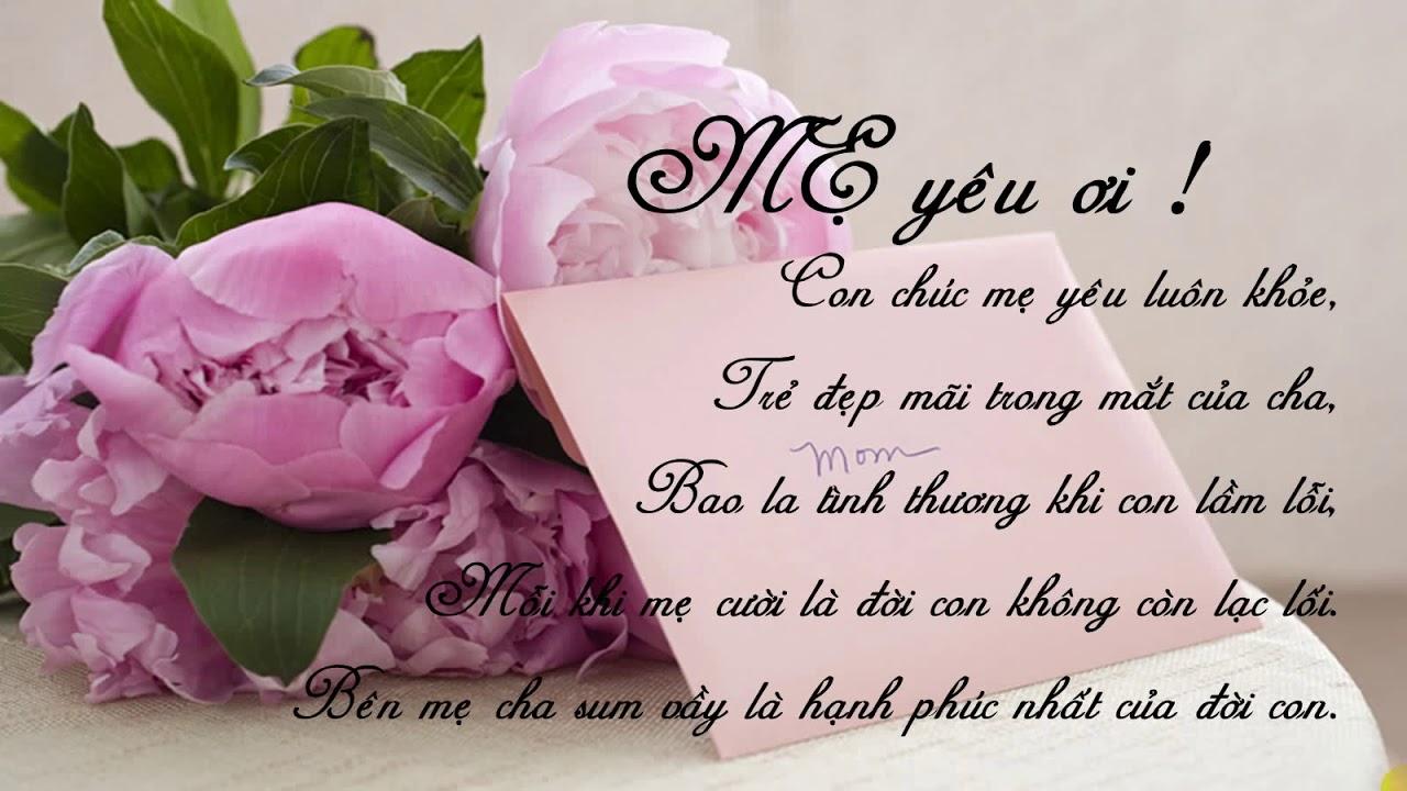 Những lời chúc 8/3 ý nghĩa dành tặng mẹ yêu - Nguồn ảnh: Internet