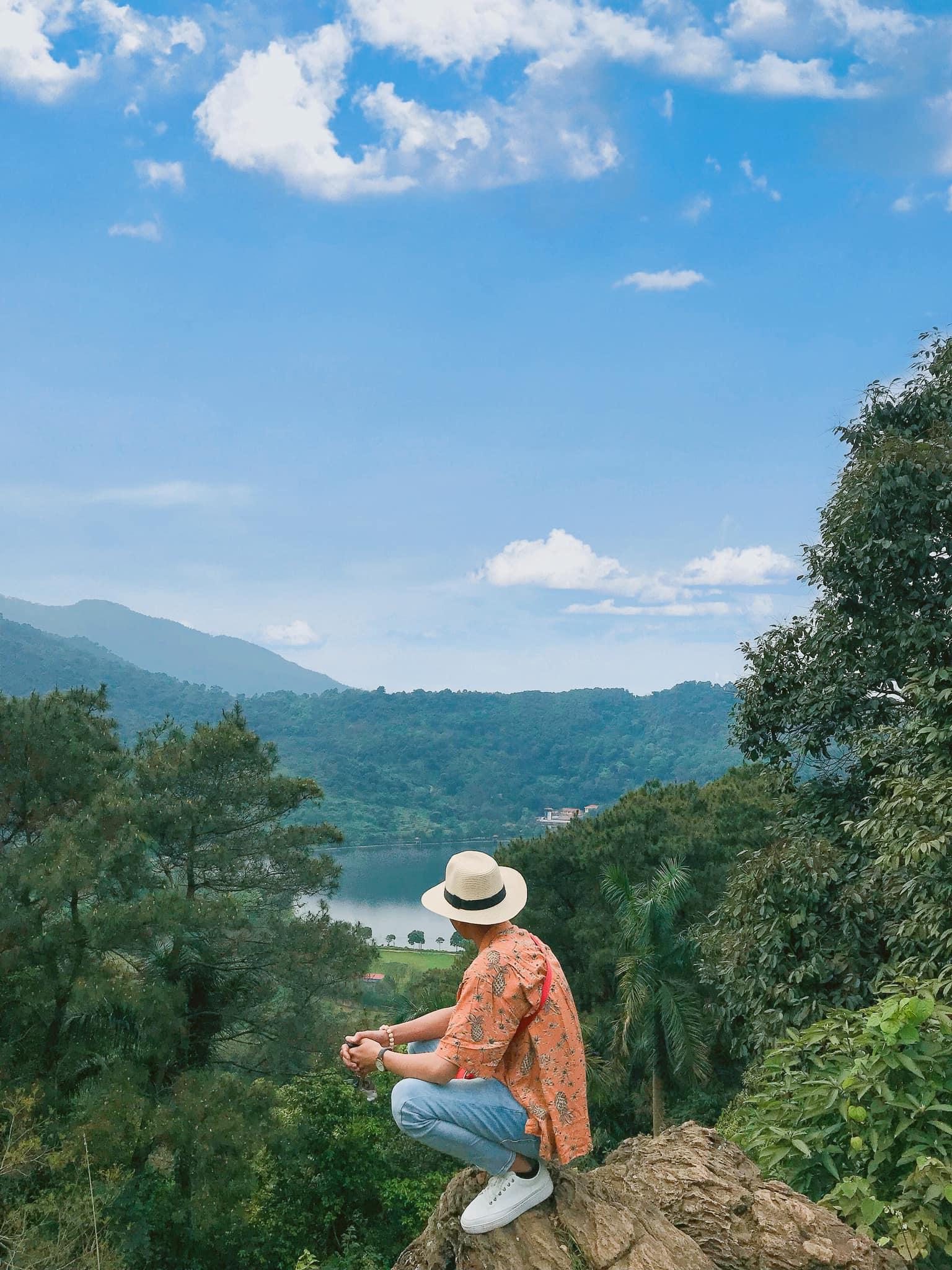 Không khí trong lành mát mẻ. Hình: Tuấn Việt