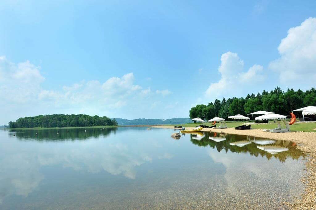 Hồ Đại Lải. Hình: Sưu tầm