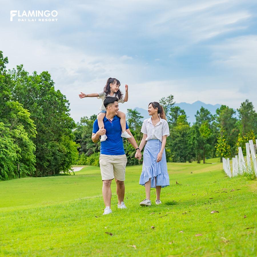 Điểm nghỉ dưỡng lý tưởng cho gia đình. Hình: Sưu tầm