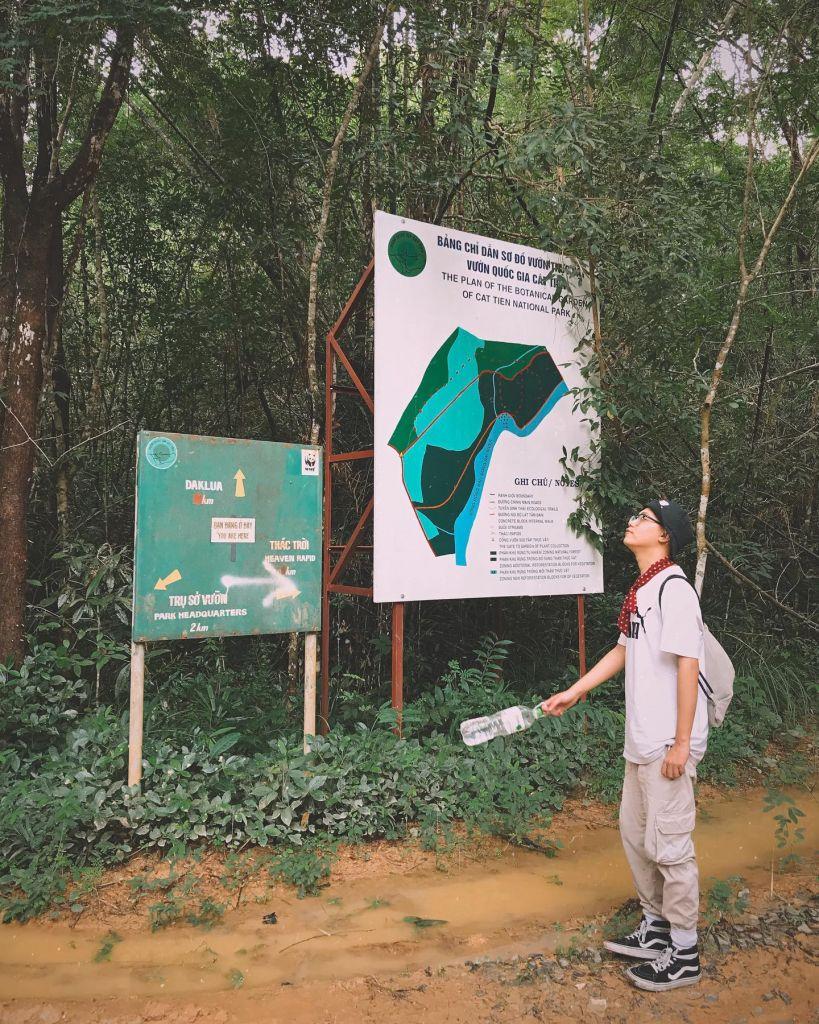 Vườn quốc gia Nam Cát Tiên. Hình: Sưu tầm