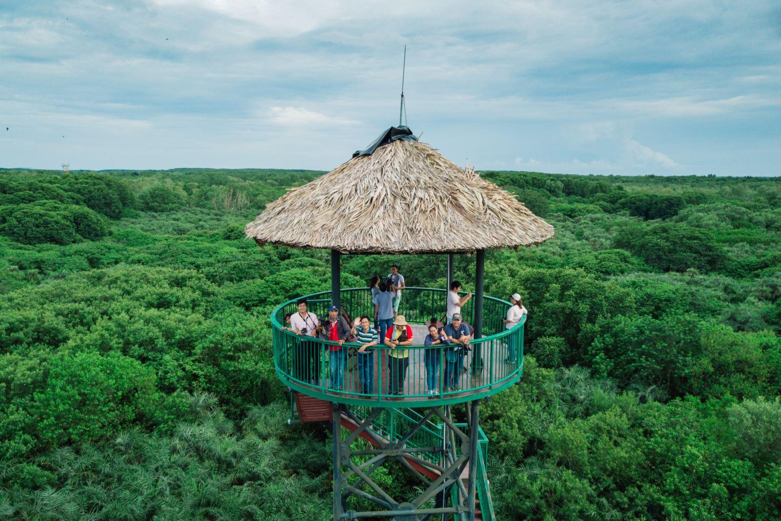 Khu du lịch sinh thái Cần Giờ. Hình: Sưu tầm