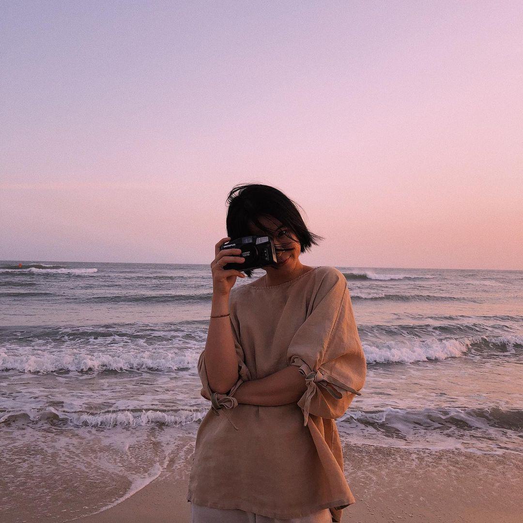 Căn chỉnh ánh sáng là yếu tố rất quan trọng đối với máy ảnh film. Hình: @nganshuu