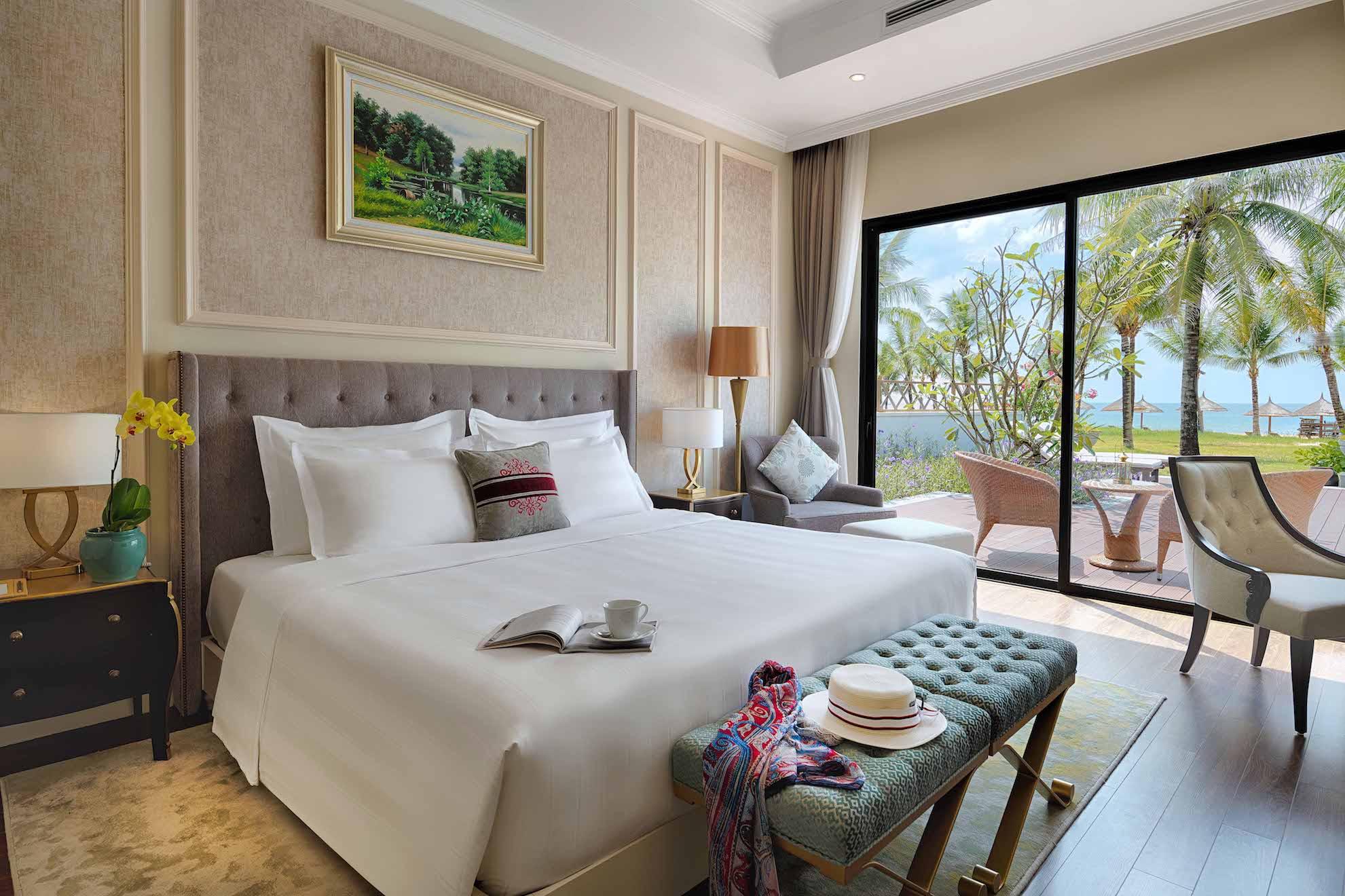 Phòng ngủ trong mỗi biệt thự. Hình: Sưu tầm