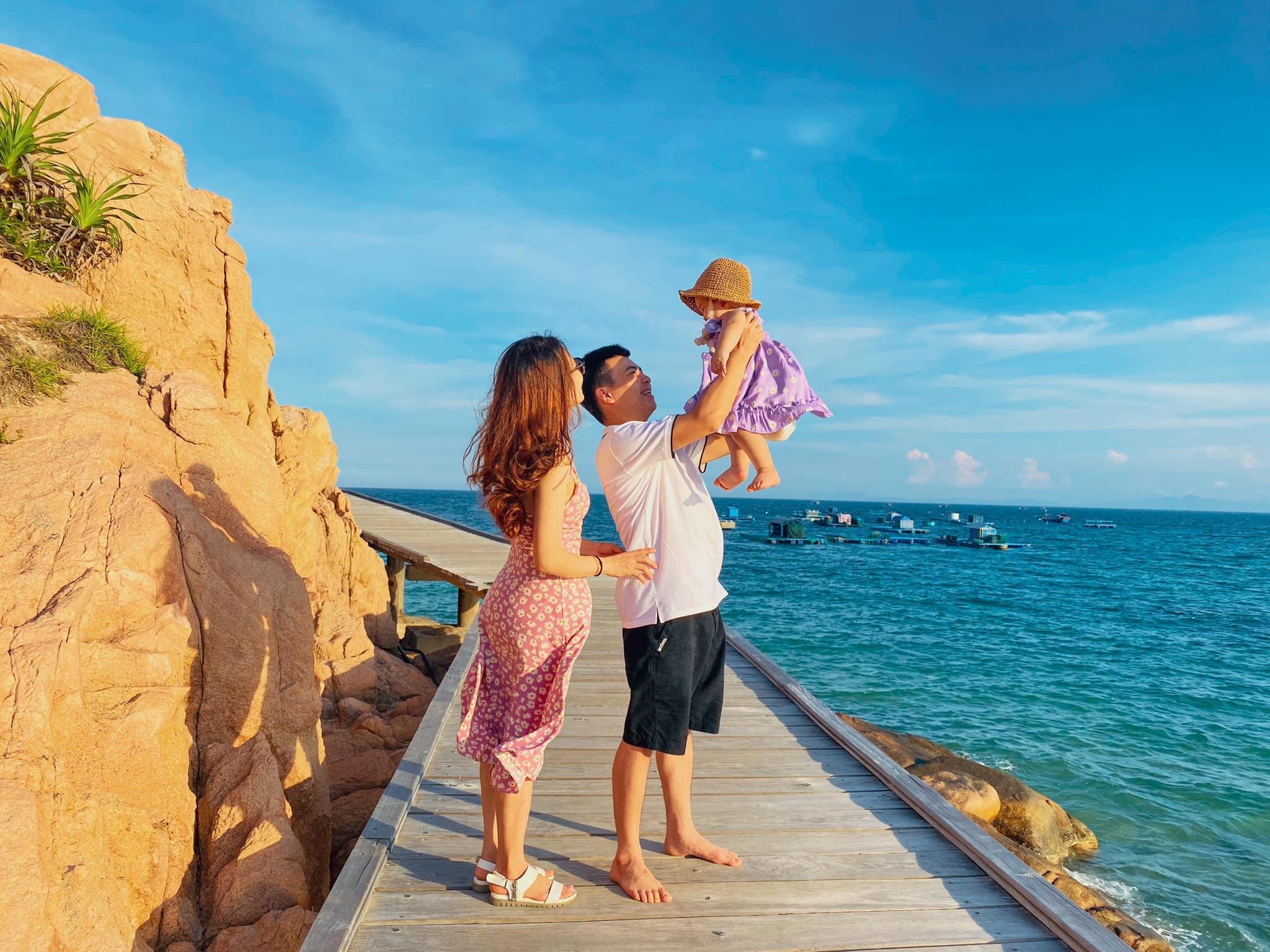 Gia đình du lịch Quy Nhơn. Hình: Sưu tầm