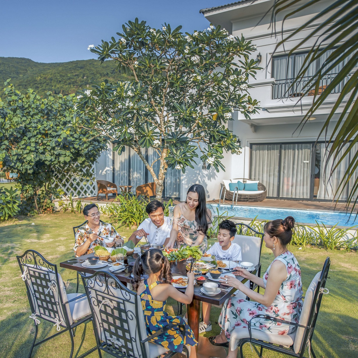 Vinpearl Discovery 1 Nha Trang là nơi nghỉ dưỡng tuyệt vời cho gia đình. Hình: Sưu tầm