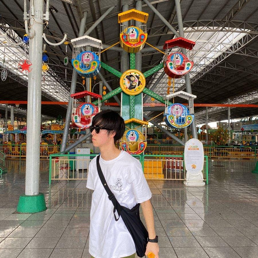 Các trò chơi ở suối Tiên. Hình: @m__cgt
