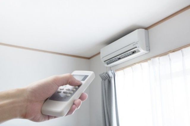 Điều chỉnh nhiệt độ phòng lên khoảng 25 độ C để hạn chế virus sinh sôi. Ảnh: Internet