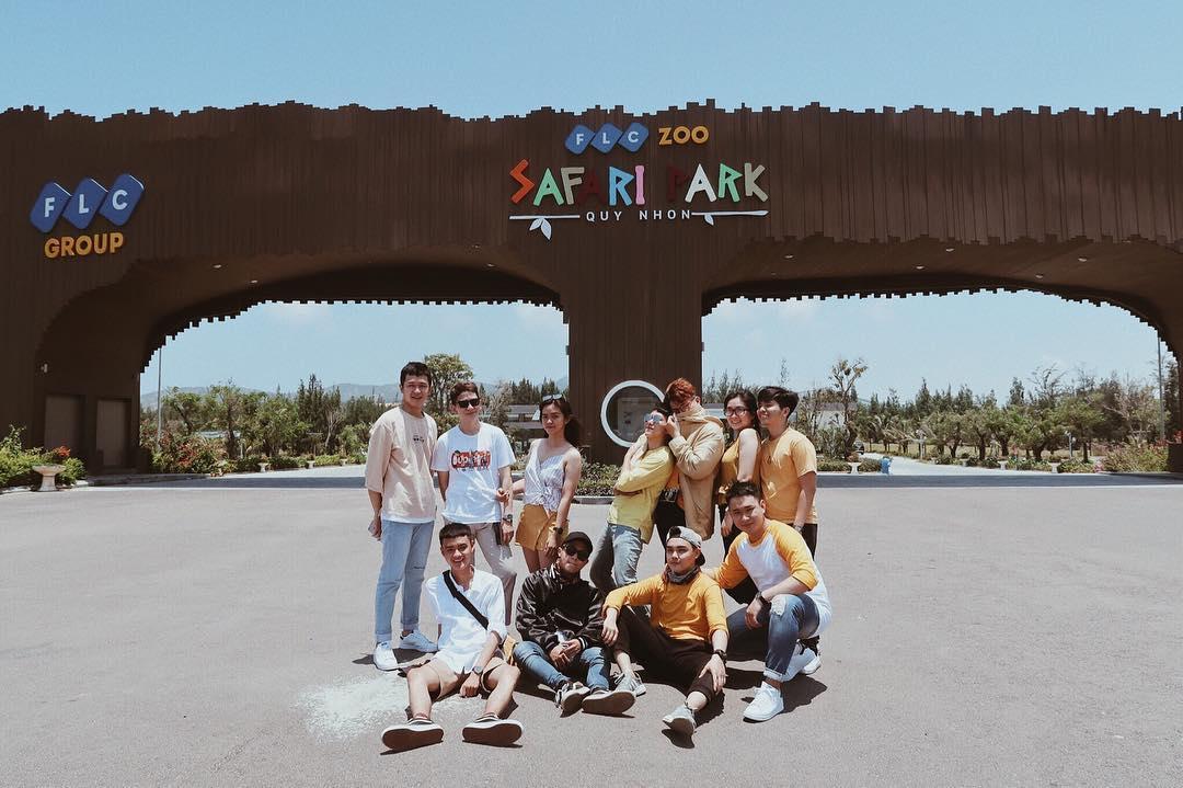FLC Zoo Safari Park. Hình: Sưu tầm