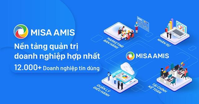 MISA AMIS là phần mềm được phát triển bởi công ty cổ phần MISA
