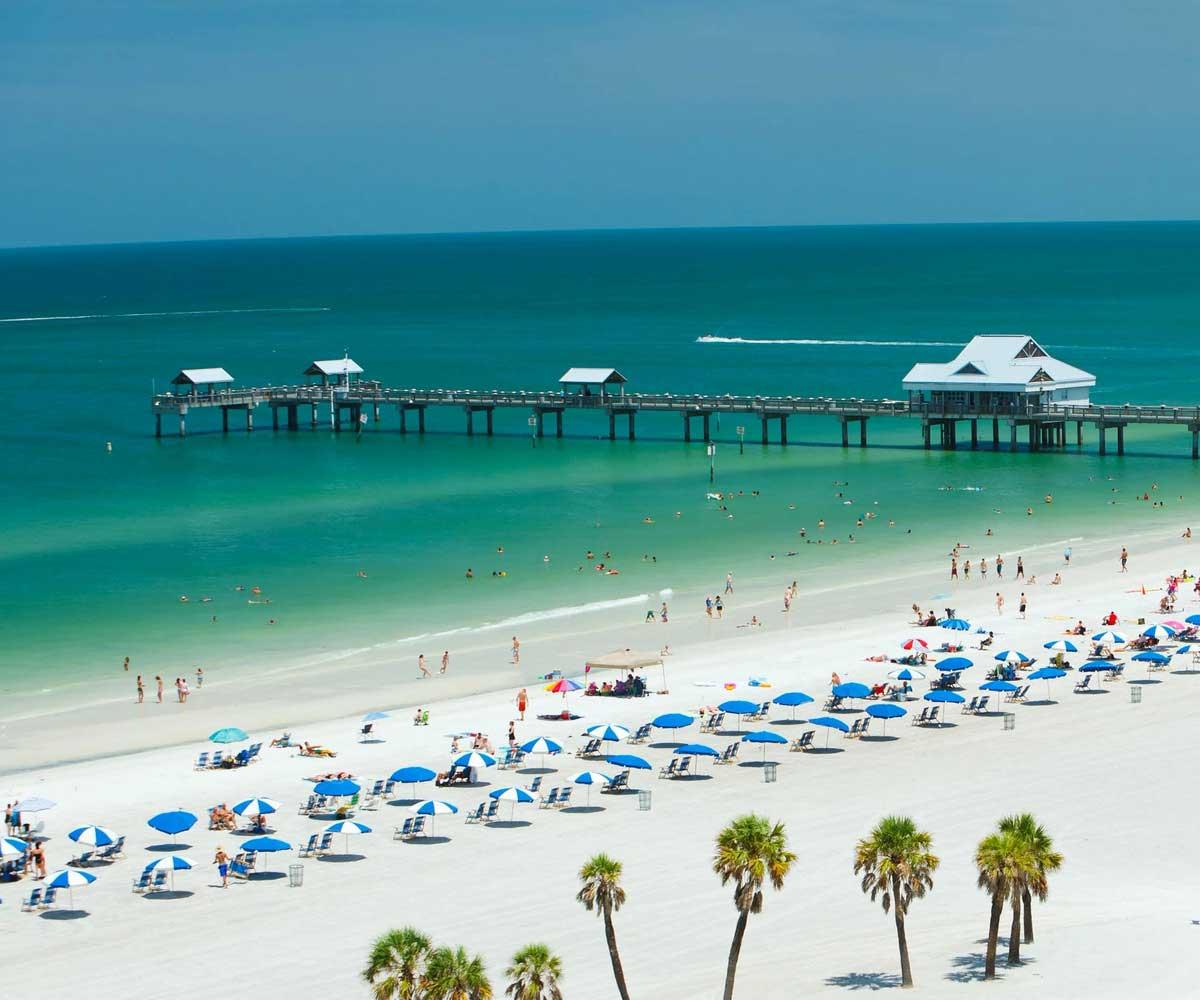 Bãi biển Clearwater, Mỹ
