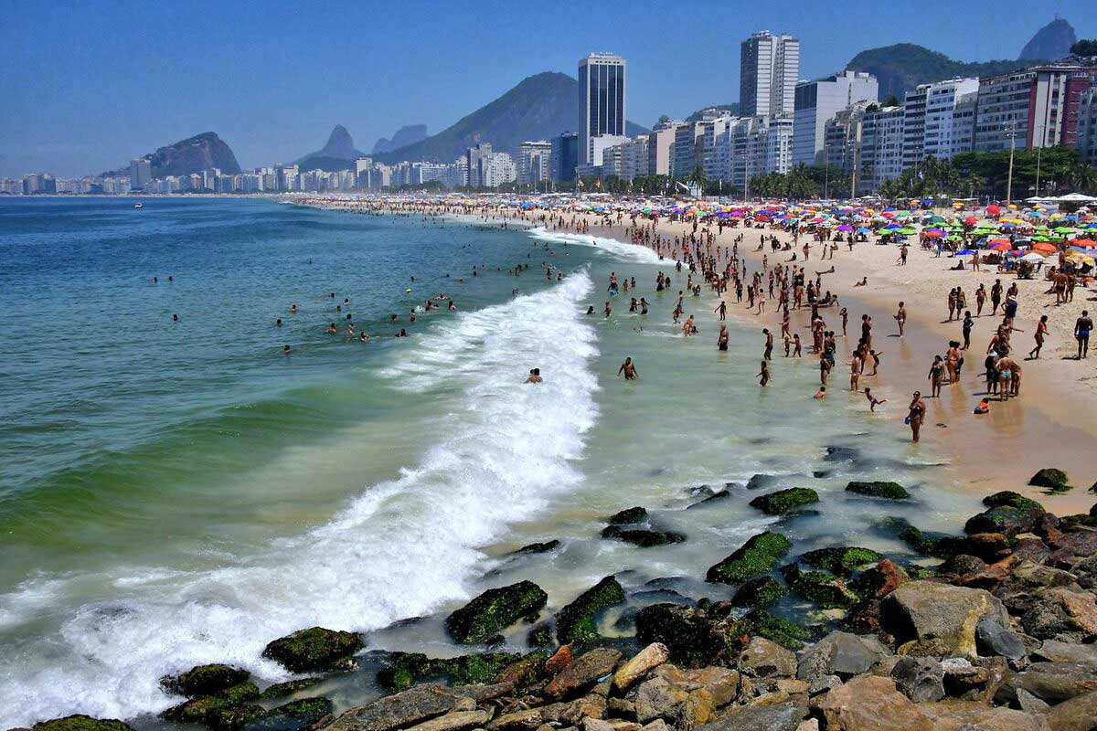 Bãi biển Copacabana, Brazil
