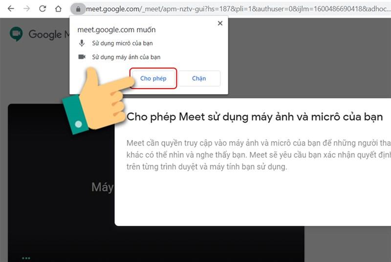 Những lỗi thường gặp khi sử dụng Google Meet - Nguồn ảnh: Internet
