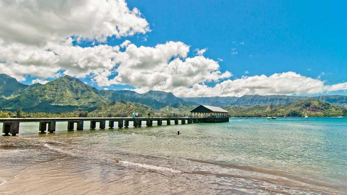 Bãi biển Hanalei, Hawaii, Mỹ