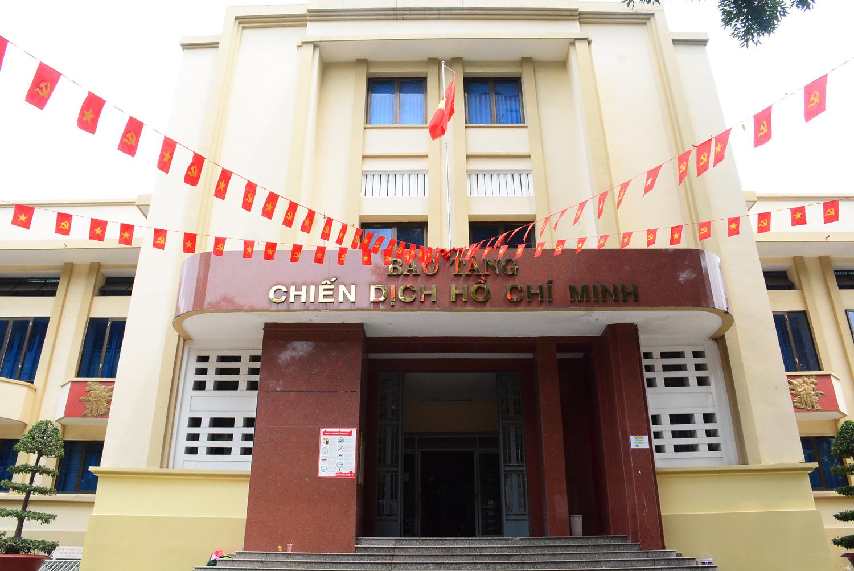 Bảo tàng Chiến Dịch Hồ Chí Minh. Hình: Sưu tầm
