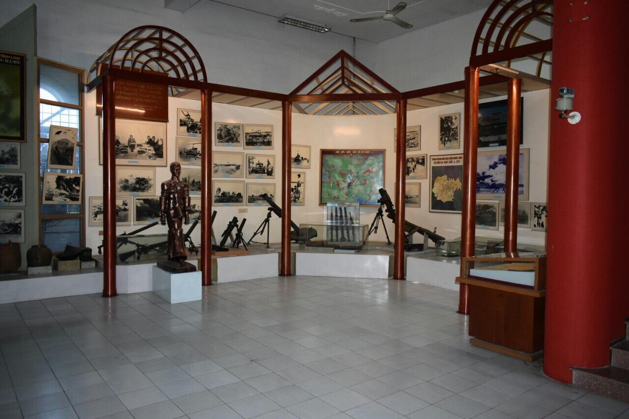 Khu trưng bày bên trong bảo tàng. Hình: Sưu tầm