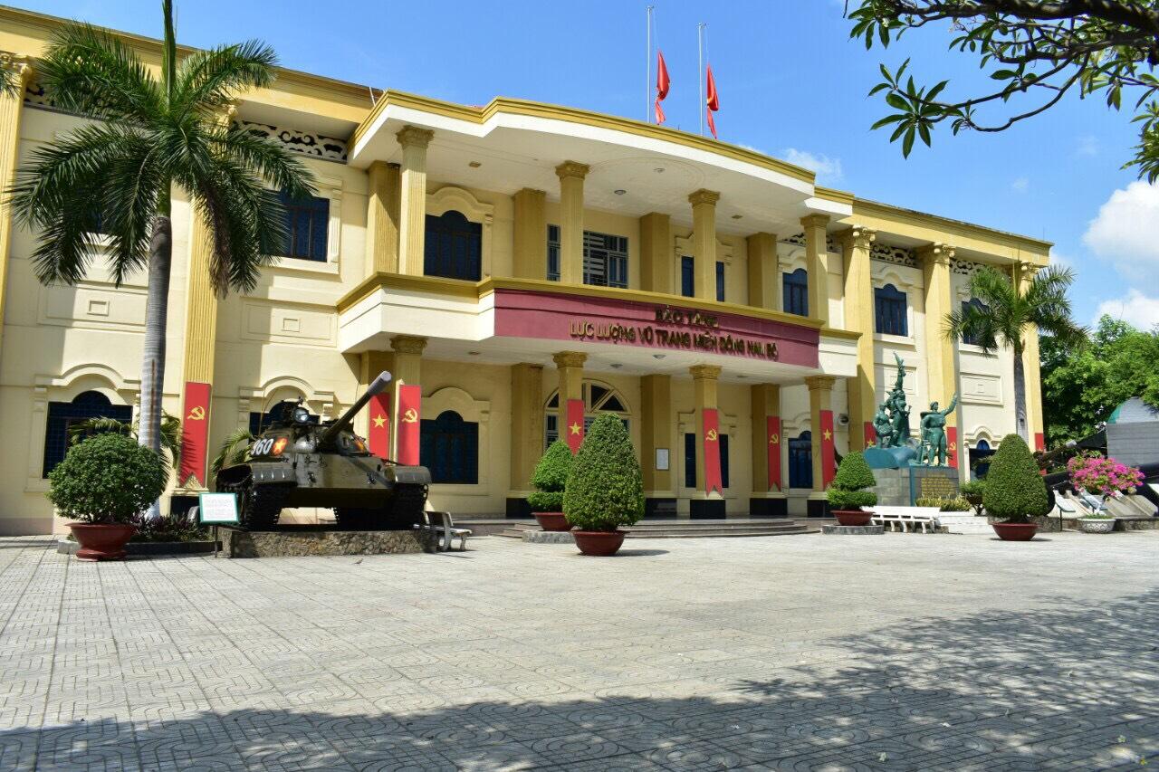 Bảo tàng Lực Lượng Vũ Trang Miền Đông Nam Bộ. Hình: Sưu tầm