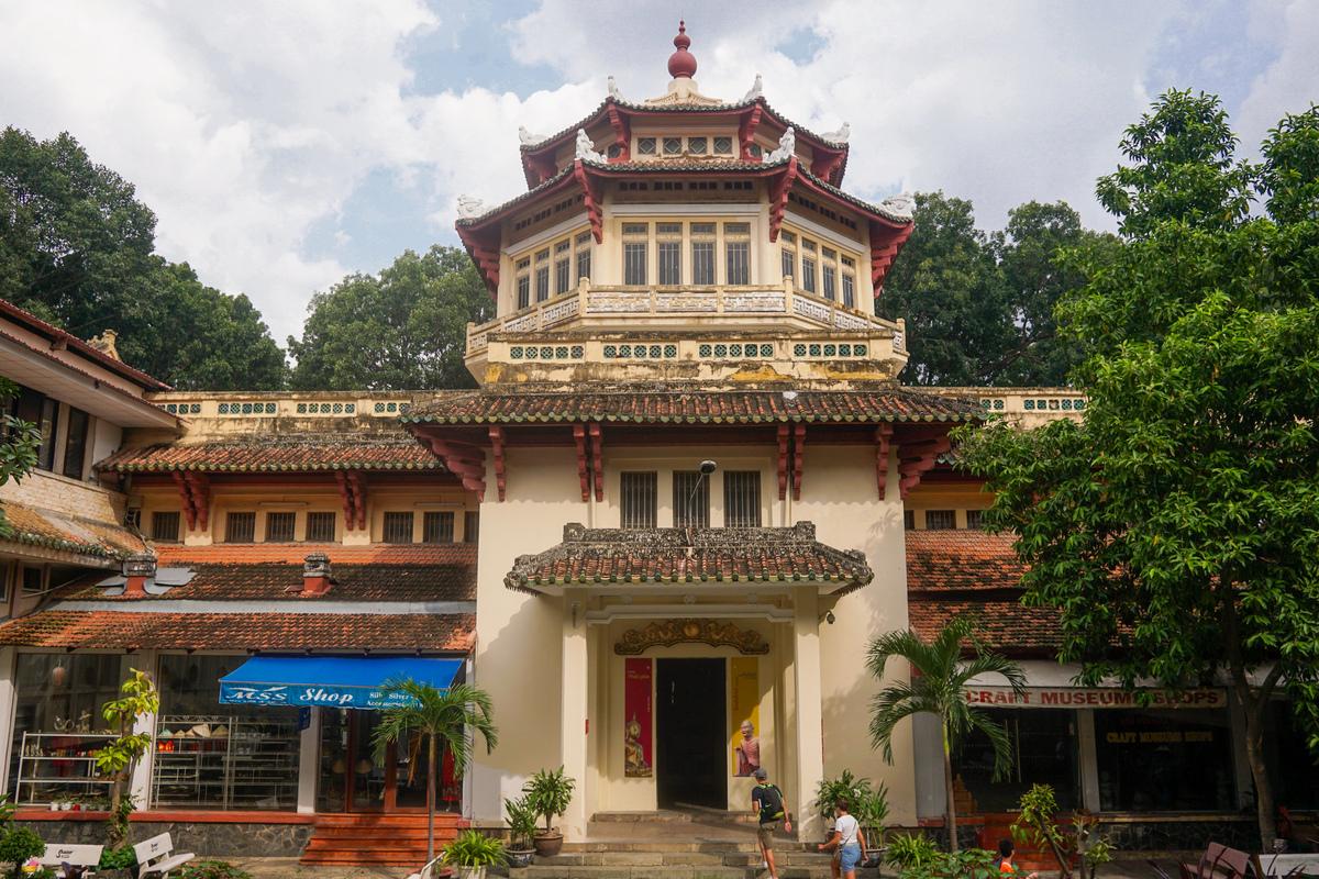 Bảo tàng Lịch Sử Việt Nam. Hình: Sưu tầm