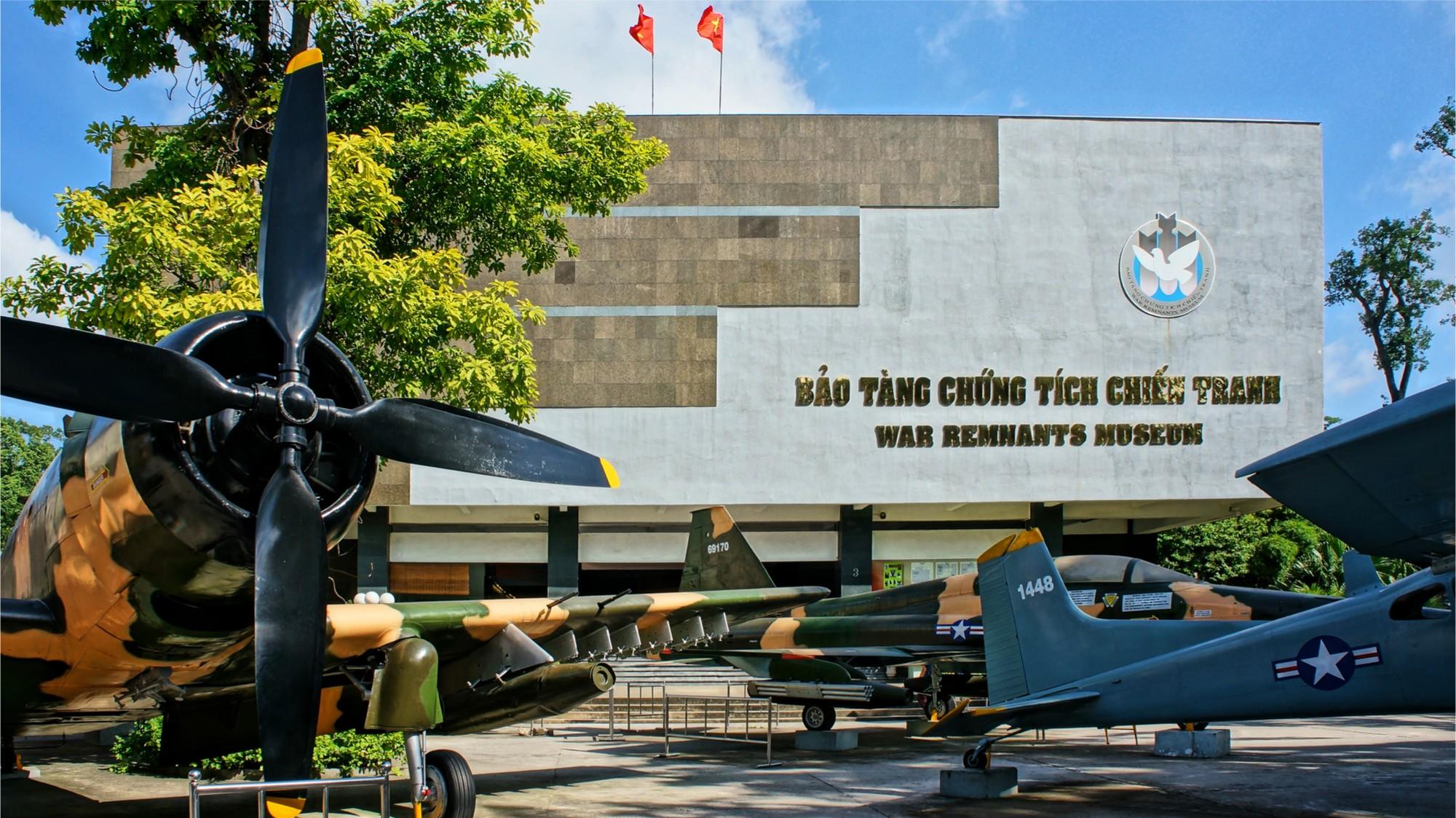 Bảo tàng Chứng Tích Chiến Tranh. Hình: Sưu tầm