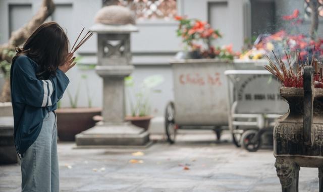 Hàng năm có rất nhiều bạn trẻ tới chùa Hà để cầu duyên