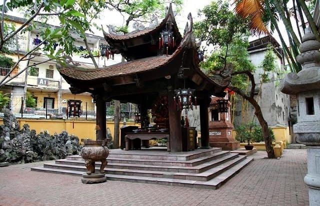 Chùa Phúc Khánh là ngôi chùa nổi tiếng linh thiêng ở mảnh đất Kinh Kỳ