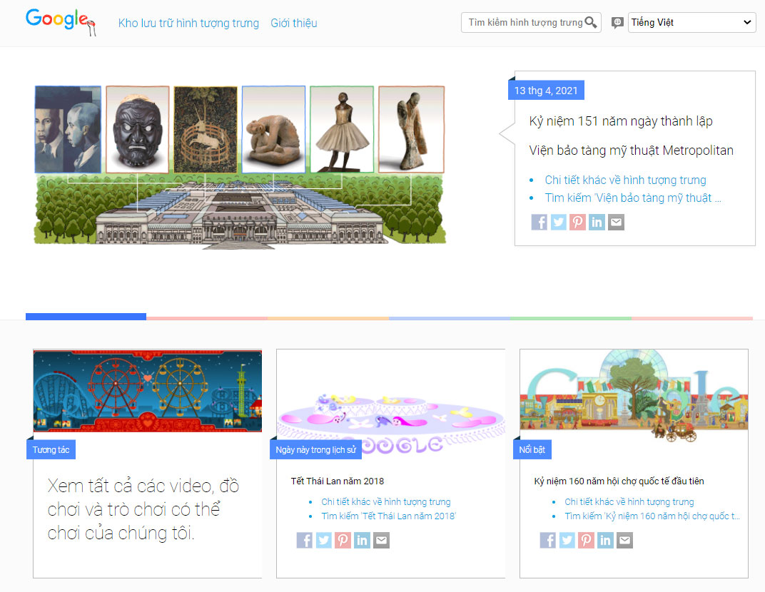 Google Doodles là gì?