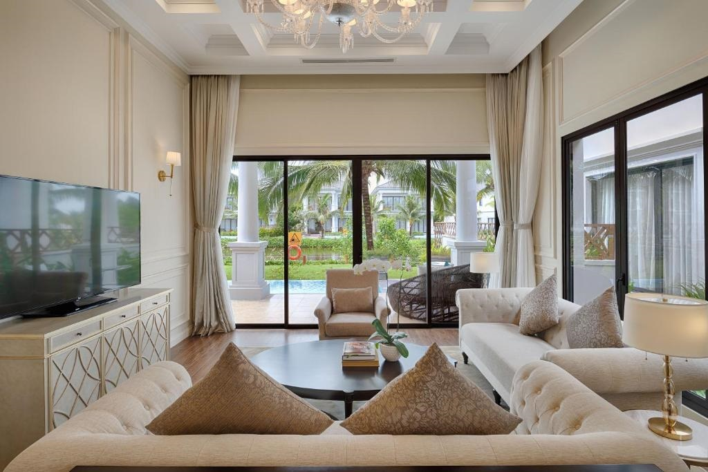 Villa 2 phòng ngủ tại Vinpearl Discovery Greenhill Phú Quốc. Hình: Sưu tầm