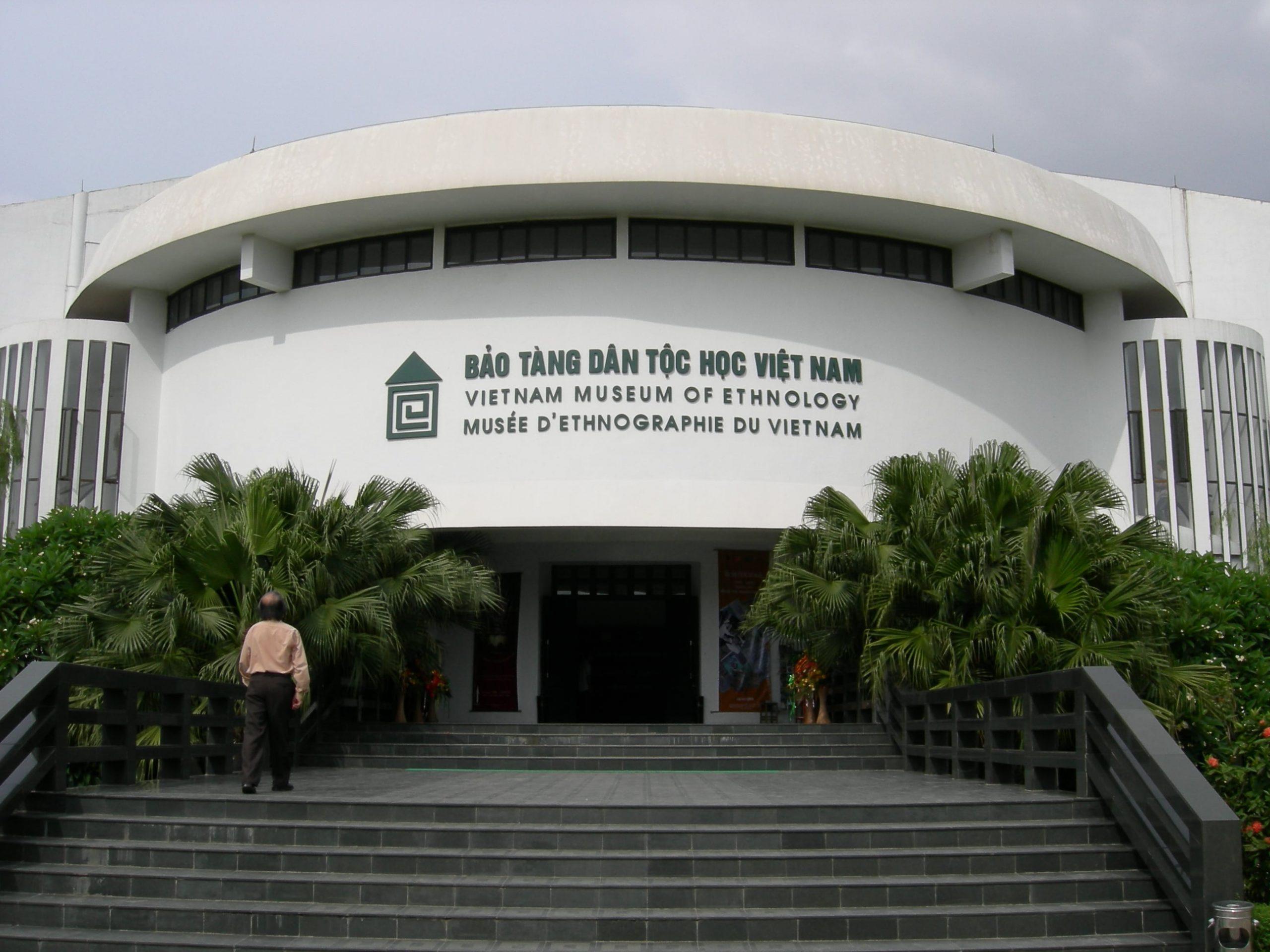 Bảo tàng Dân tộc học Việt Nam. Hình: Sưu tầm