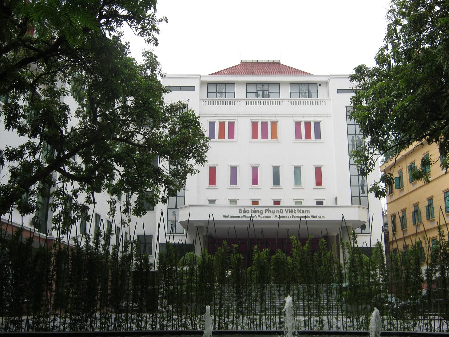 Bảo tàng Phụ nữ Việt Nam. Hình: Sưu tầm