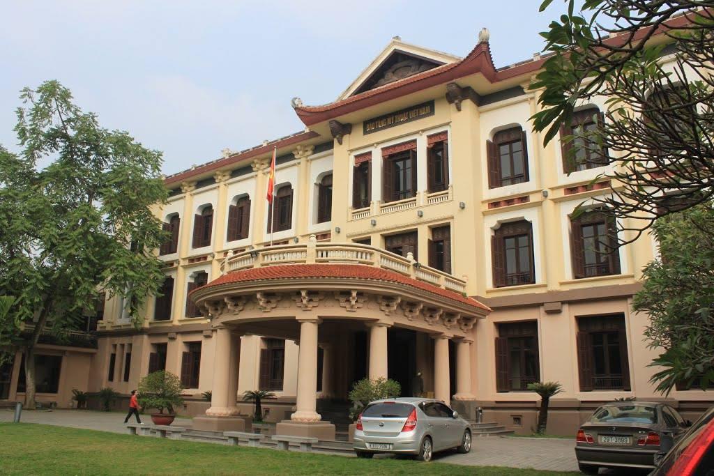 Bảo tàng Mỹ thuật Việt Nam. Hình: Sưu tầm