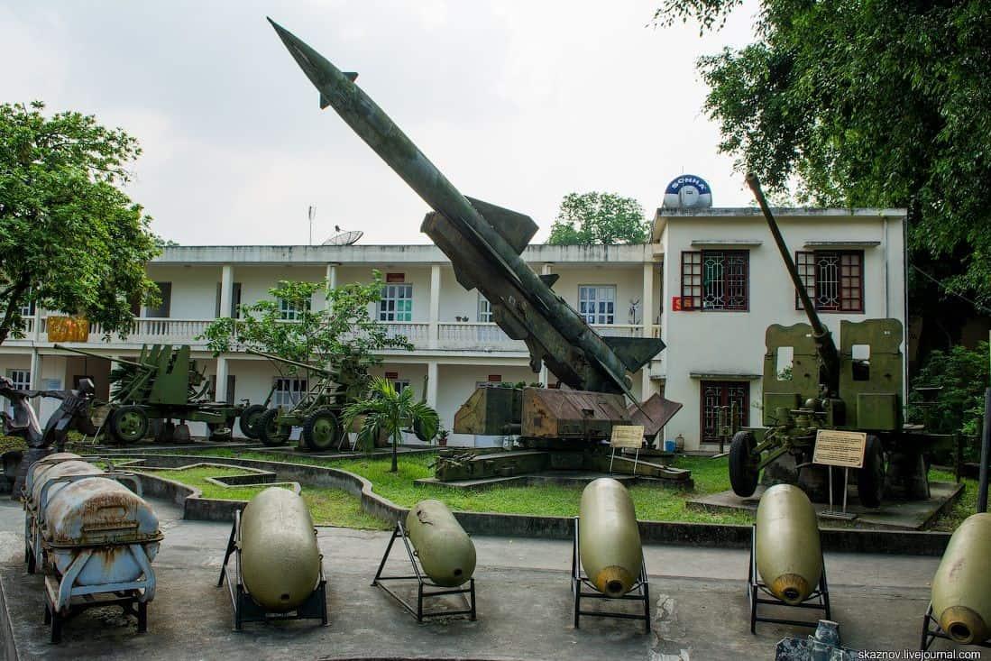 Bảo tàng Lịch sử Quân sự Việt Nam. Hình: Sưu tầm