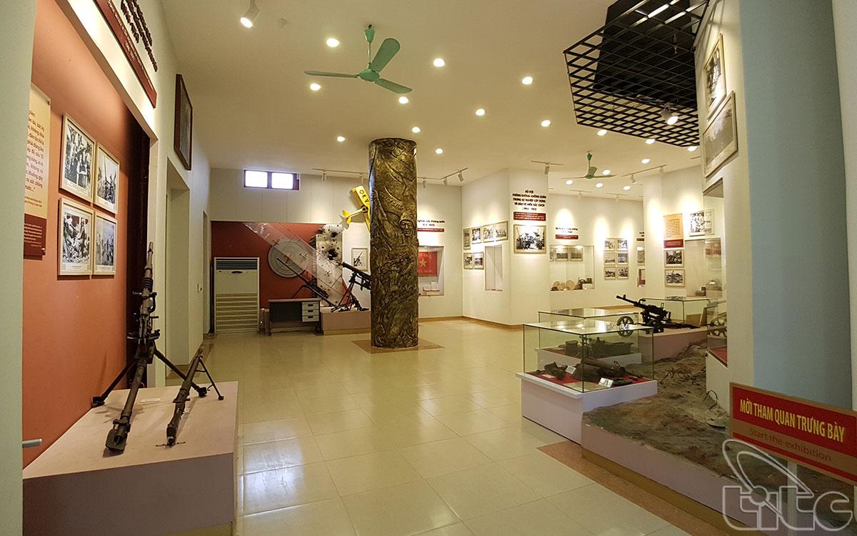 Không gian trưng bày bên trong bảo tàng. Hình: Sưu tầm