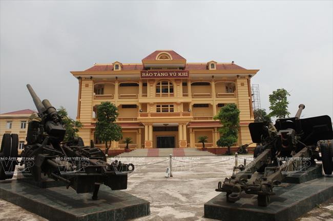 Bảo tàng Vũ khí Việt Nam. Hình: Sưu tầm