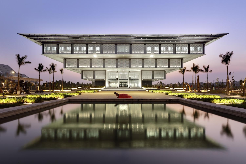 Bảo tàng Hà Nội có kiến trúc độc đáo. Hình: Sưu tầm