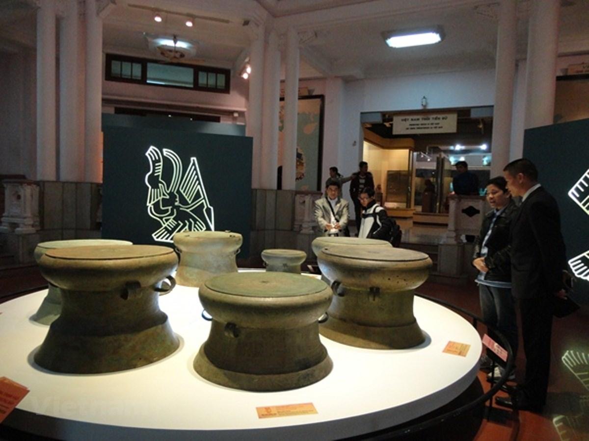 Nơi trưng bày nhiều cổ vật. Hình: Sưu tầm