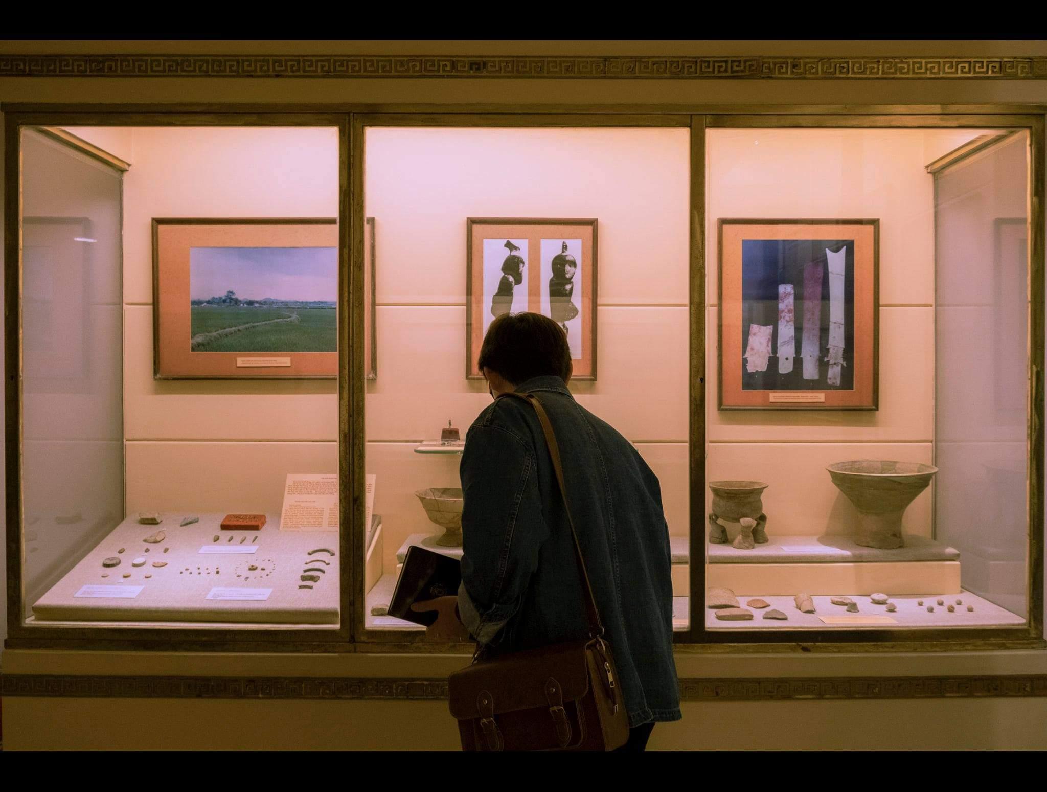 Không gian trưng bày trên trong bảo tàng. Hình: Sưu tầm